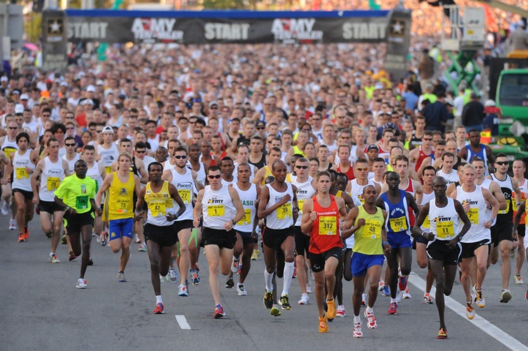 Особая тренировка марафонца Игоря Сподина