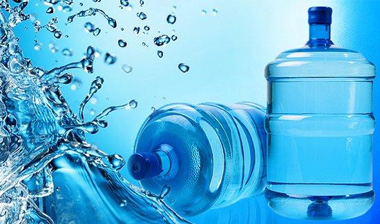 Продажа воды в бутылях и без
